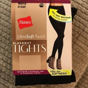 Hanes blackout tights
